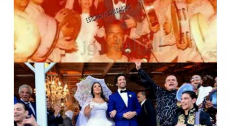 حسن الردّاد ينشر صورة من زفّة والديه... مصادفة عجيبة مع زفافه من ايمي