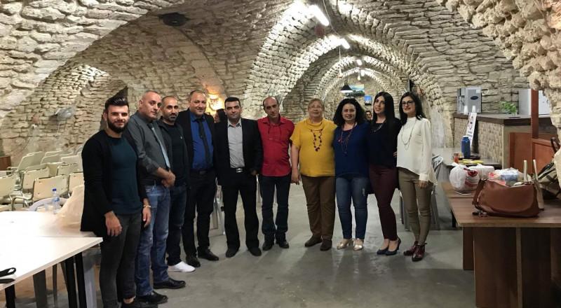 امسية زجلية في الناصرة نظمتها مجموعة