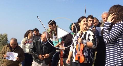 أمام سجن عتليت: تظاهرة تضامنيّة مع رافضي الخدمة العسكريّة