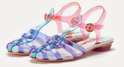 مجموعة أحذية Sophia Webster المزينة بالفراشات