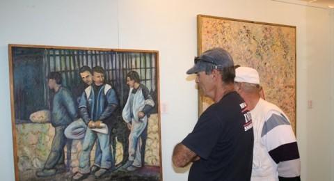 طمرة: معرض مميّز للفنان أحمد كنعان ضمن شهر الثقافة