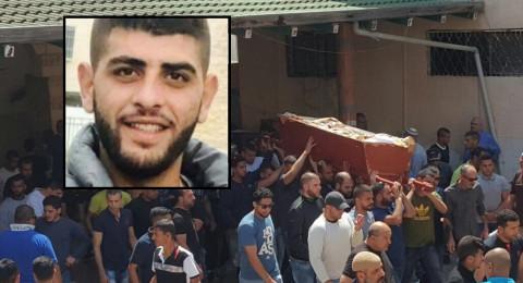 عارة تودع ابنها تيسير أبو زرقة .. الشاب الذي قتلته شهامته
