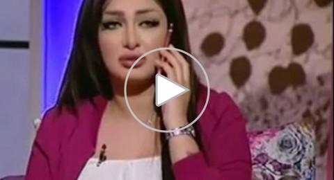 طلاق مذيعة مصرية على الهواء!