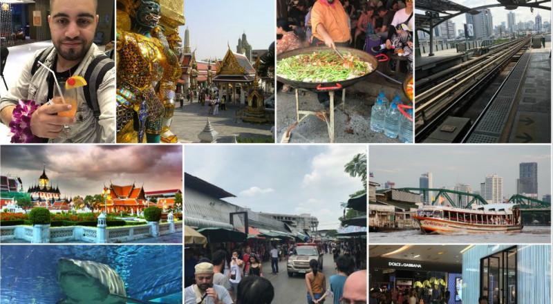 أن تتجول مع عائلتك في بانكوك .. بين عالم التسوق وعالم المحيطات وعالم المعابد .. متعة ما بعدها متعة