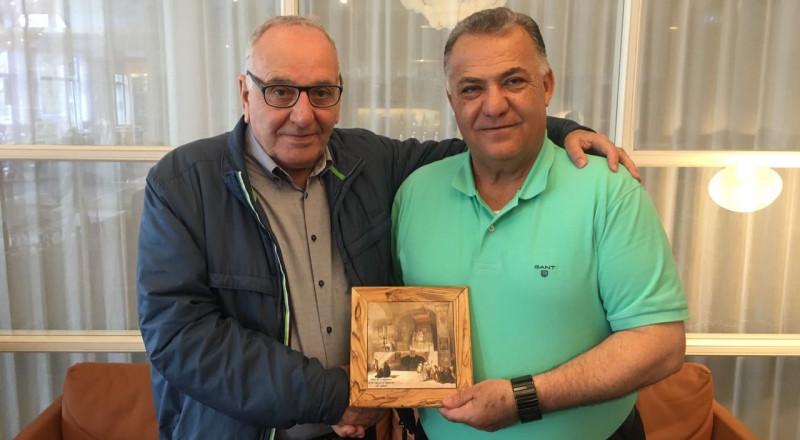 علي سلام في نهاية زيارته للدنمارك يقدم الشكر لمروان زعبي