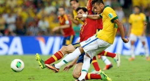 البرازيل تسحق اسبانيا وتتوج من جديد بطلة لكأس القارات