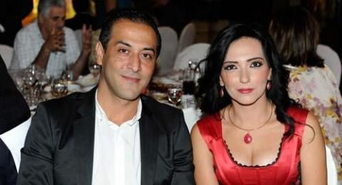 أمل عرفة تنفصل عن زوجها الفنان عبد المنعم عمايري