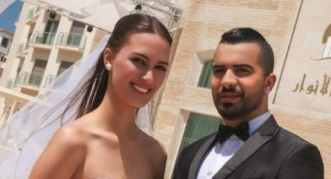 أمينة العلام و مراد بنيس يتزوجان بالمغرب