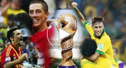 البرازيل وإسبانيا تتنافسان على لقب كأس القارات اليوم