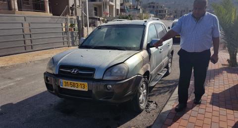 طرعان: الاعتداء على منزل رئيس المجلس المحلي والتسبب بأضرار مادية!