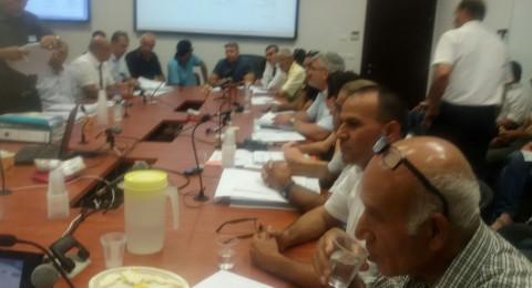 جلسة هامة في اللجنة اللوائية ثم موافقة مبدئية على تقليص المحمية الطبيعية بين الشبلي وأم الغنم