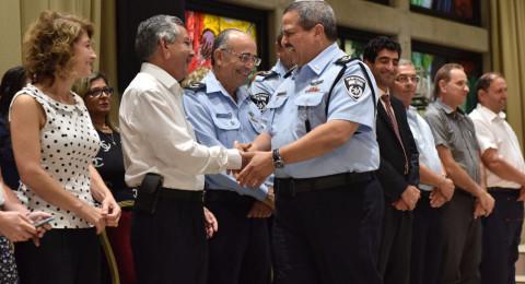 باجتماع ريفلين مع الشرطة ورؤساء السلطات المحلية العرب: الاتفاق على
