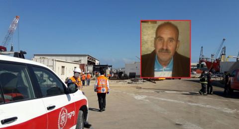 مصرع جميل حسن (65 عاما) من ابو سنان في حادث عمل بحيفا
