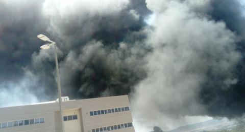 القدس : اندلاع حريق بوادي الصليب واخلاء المتنزهين دون وقوع اصابات