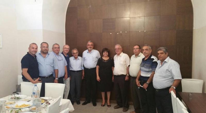 اللجنة التنفيذية للمؤتمر الأرثوذكسي تبحث قضية الأوقاف مع اللجنة الرئاسية الفلسطينية