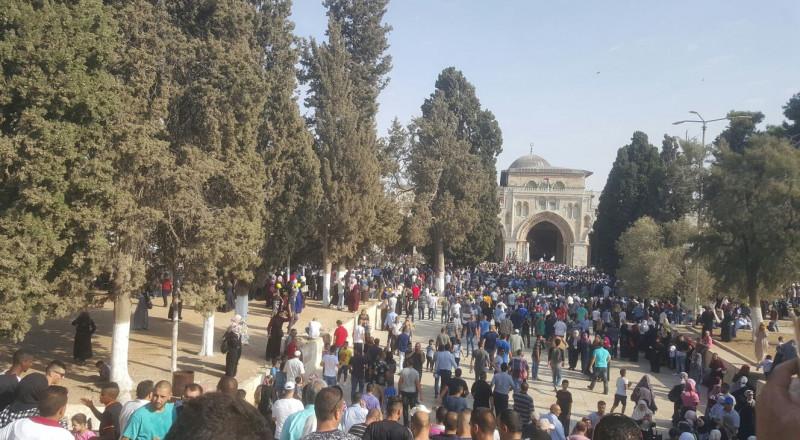 القوات الاسرائيلية تعزز تواجدها في القدس استعدادا لصلاة الجمعة