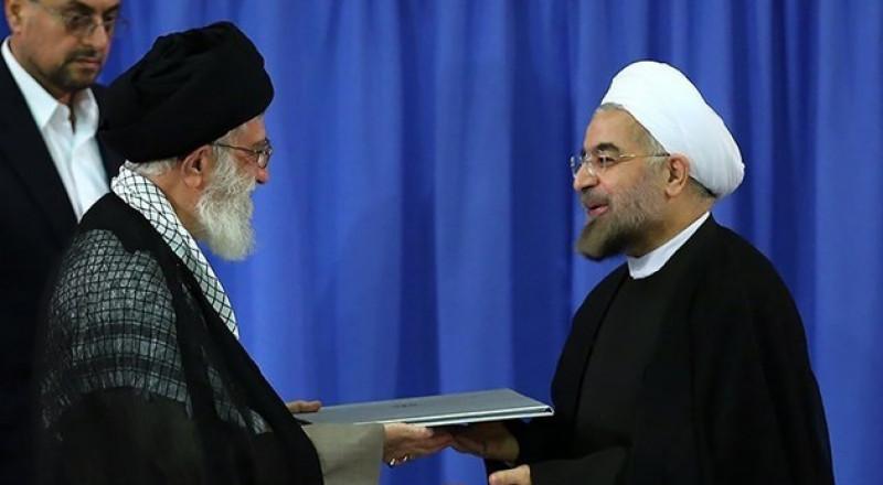 روحاني يبدأ ولاية رئاسية جديدة، وخماينائي: ايران لم ولن تستسلم أمام الغطرسة