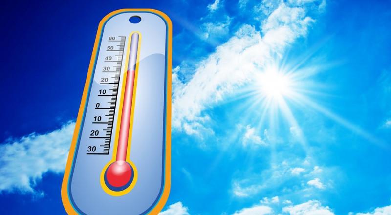 الطقس: ارتفاع على دراجة الحرارة