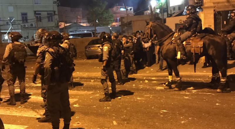 مواجهات في يافا بين الشرطة والشبان