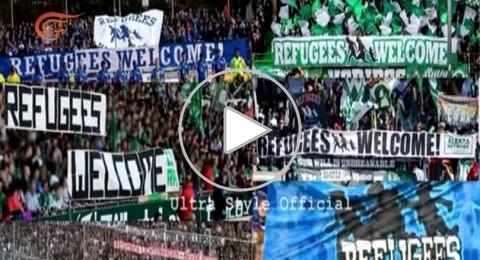 الجماهير الألمانية في الملاعب  تفتح قلبها لأطفال سوريا
