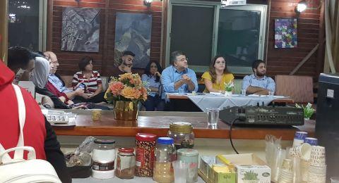 مركز إعلام ينظّم مناظرة علنيّة حول النضال الوطنيّ وخطاب المواطنة
