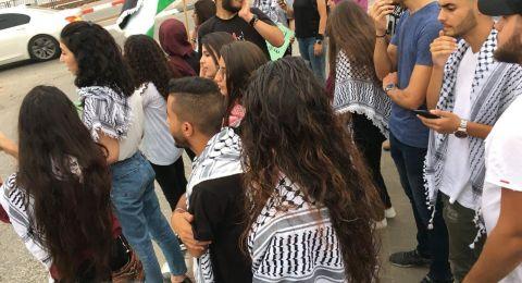 ام الفحم: وقفة طلّابية بحلول الذكرى الـ18 لإنتفاضة القدس والأقصى
