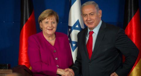 في اطار زيارة ميركل: توسيع التجارة بين إسرائيل والمانيا