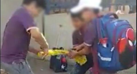 الناصرة: مقطع فيديو يوثّق شتم أحد مرشّحي الرئاسة من قبل مجموعة طلبة