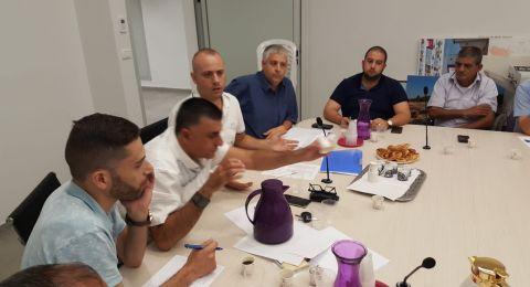 عقد جلسة أولى للجنة الانتخابات بمشاركة ممثلين عن جميع القوائم في الناصرة
