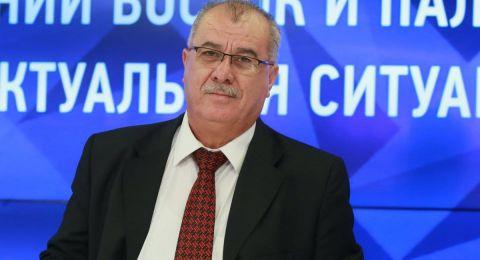 بركة يعقد مؤتمرا صحفيا في موسكو ويلتقي طلابا فلسطينيين في ختام زيارته