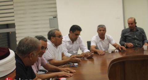 سخنين: اللجنة الشعبية تدعو لانجاح اضراب غدا، والمشاركة في المظاهرة