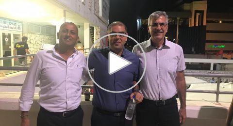 جبهة الناصرة تفتح مهرجانها الإنتخابيّ