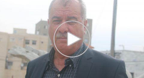 بركة يحيي نجاح الاضراب العام في فلسطين التاريخية
