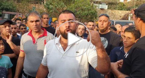 محمود عطور يروي بحرقة وألم شعوره بعد مقتل شقيقه الوحيد
