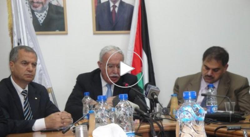 المالكي: لن نتقدم بطلبات عضوية جديدة في المؤسسات الأممية وسنركز على معركة مجلس الأمن
