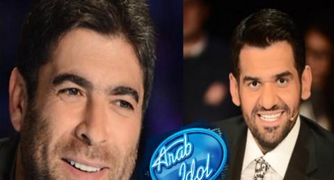 وائل كفوري وحسين الجسمي في الحلقات الاخيرة من برنامج Arab Idol