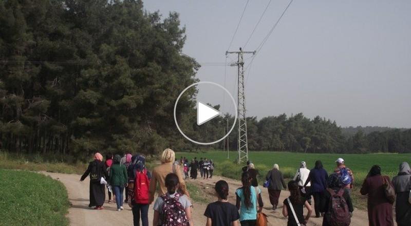 المركز الجماهيري أم الفحم - فعاليات يوم العودة في اللجون 2013