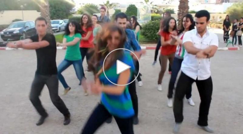 رقص طالبات كلية الطب - تونس