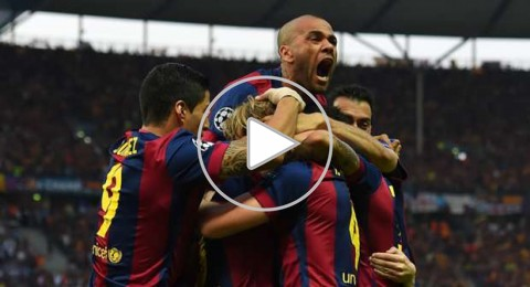 برشلونة بطلًا لأوروبا بعد الفوز على يوفنتوس 3-1