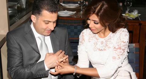 زواج الفنانة أروى من رجل الاعمال عبد الفتاح المصري