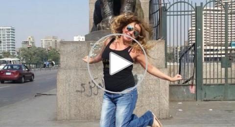 رزان مغربي: أحتفلت بعيد ميلادي عند كوبري قصر النيل