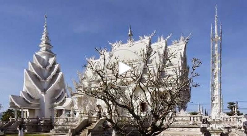 جولة في المعبد الأبيض في تايلاند