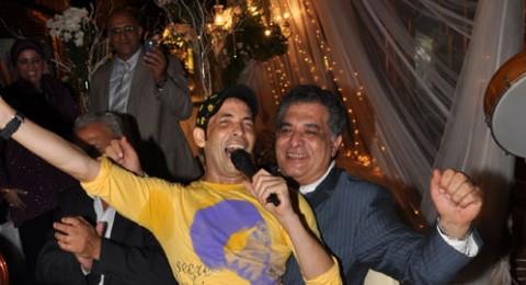 سعد الصغير يعود لسابق عهده بعد الشفاء في حفل زفاف  فهد زكي