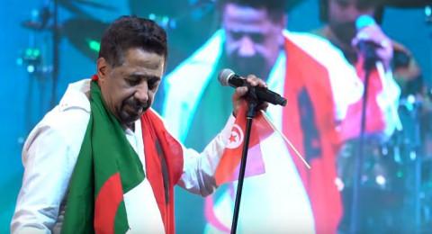 الشاب خالد يرفع علم تونس في الإمارات
