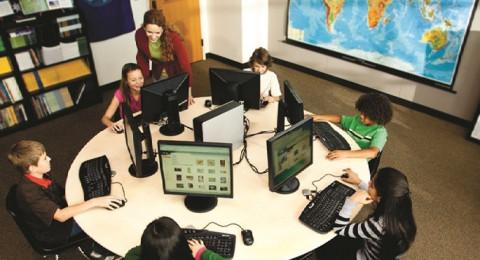 كيف تبدو غرفة الحواسيب المدرسية في عام 2018 ؟