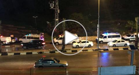 الشرطة: هذا ما فعله 300 شرطي مساء أمس في أم الفحم - فيديو