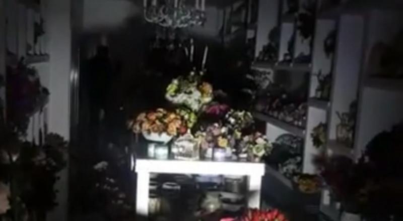شفاعمرو: مجهولون يقومون بإضرام نار في محل للهدايا