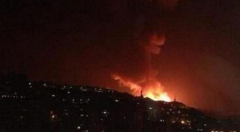 الطيران الإسرائيلي يقصف موقعًا للمقاومة في قطاع غزة