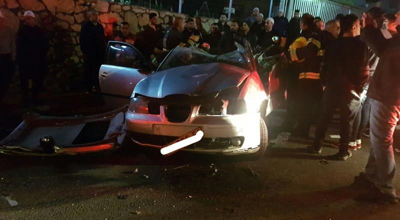 عسفيا- دالية الكرمل: حادث طرق واربع اصابات متفاوتة