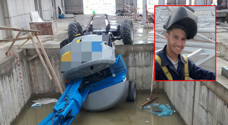 يافة الناصرة: مصرع الشاب بهاء كنانة خلال حادث عمل في مصنع